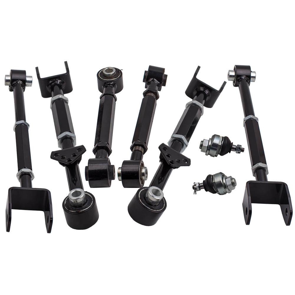 6 Pieces Rear Suspension Camber Control Arm For Acura TL